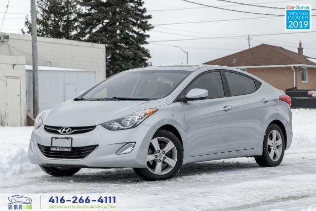 2012 Hyundai Elantra GLS|Heated frt and rear seats| |Roof|Alloy|