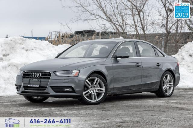 2013 Audi A4 Premium|Manual|Navi|Clean Carfax|
