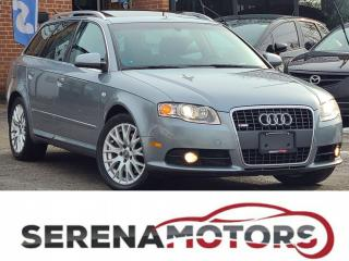 Used 2008 Audi A4 WAGON | S-LINE | 2.0T | QUATTRO | AUTO | F. LOADED for sale in Mississauga, ON