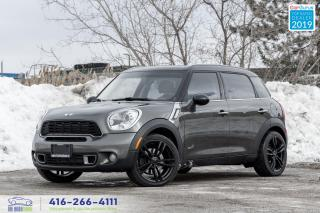 Used 2012 MINI Cooper Countryman Countryman S|ALL4|6 speed manual| for sale in Bolton, ON
