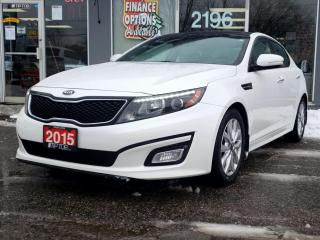 Used 2015 Kia Optima 4dr Sdn Auto EX for sale in Bowmanville, ON