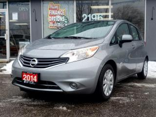 Used 2014 Nissan Versa Note 5DR HB AUTO 1.6 SV for sale in Bowmanville, ON