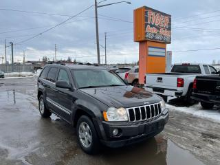 Used 2005 Jeep Grand Cherokee Limited*5.7L HEMI*LEATHER*NAVI*LOADED*AS IS for sale in London, ON