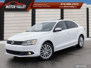 Used 2011 Volkswagen Jetta 2.0T TDI DSG Highline Navigation - No Accident! for sale in Scarborough, ON