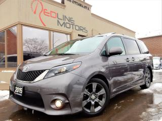 Used 2015 Toyota Sienna SE-8Pass.Navi.Camera.TV/DVD.Leather.PowerDoors.70k for sale in Kitchener, ON