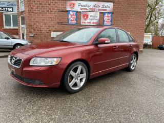 Used 2011 Volvo S40 T5/2.5L/SAFETY INCLUDED for sale in Cambridge, ON