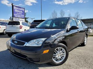 Used 2006 Ford Focus SE, LOCAL, NO ACCIDENTS for sale in Surrey, BC