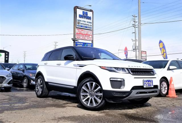 2016 Land Rover Range Rover Evoque Loaded | AWD | HSE | Certified