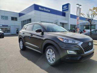 New 2021 Hyundai Tucson SUN AND LEATHER PKG: HEATED SEATS AND STEERING/PROXY KEY/BACK UP CAM for sale in Edmonton, AB