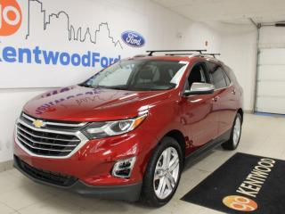 Used 2019 Chevrolet Equinox Premier | AWD | 2.0T | heated Leather | Sunroof | Clean Carproof | for sale in Edmonton, AB