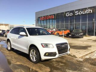 Used 2013 Audi Q5 2.0T, S-LINE, LEATHER for sale in Edmonton, AB