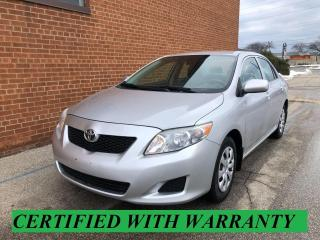 Used 2009 Toyota Corolla CE for sale in Oakville, ON