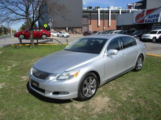Used 2010 Lexus GS 350 NAV ~ REAR CAM ~ HEAT/COOL SEAT ~ ACCIDENT FREE for sale in Toronto, ON