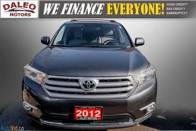 2012 Toyota Highlander LTD / 7 PASS / LEATHER / MOONROOF / NAVI / CAM Photo3