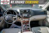 2012 Toyota Highlander LTD / 7 PASS / LEATHER / MOONROOF / NAVI / CAM Photo37