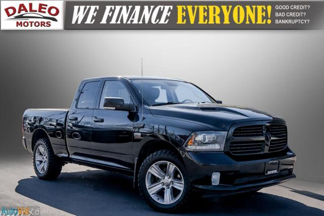 2013 RAM 1500 SPORT / LEATHER / BUCKET SEATS / TOW HITCH /