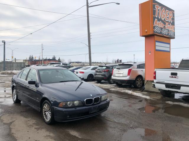 2003 BMW 5 Series 530ia**RUNS WELL**HAS COOLANT LEAK**AS IS