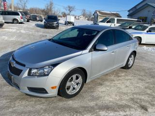 Used 2014 Chevrolet Cruze 2LT for sale in Steinbach, MB