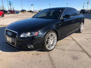 Used 2012 Audi A4 2.0T PREMIUM for sale in Tilbury, ON