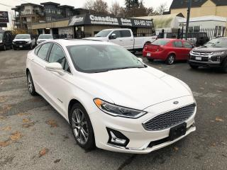 Used 2019 Ford Fusion Hybrid TITANIUM 2.0L 188HP/ELECTRIC CVT AUTO for sale in Langley, BC