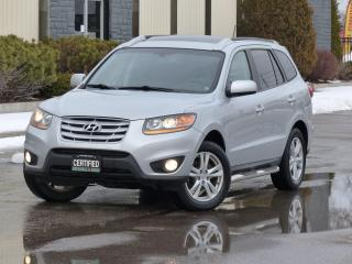 Used 2010 Hyundai Santa Fe AWD,NAVIGATION,BACKUP CAMERA,LEATHER,CERTIFIED, for sale in Mississauga, ON