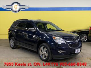 Used 2015 Chevrolet Equinox 2LT V6 AWD, Navi, Roof, Bcam for sale in Vaughan, ON