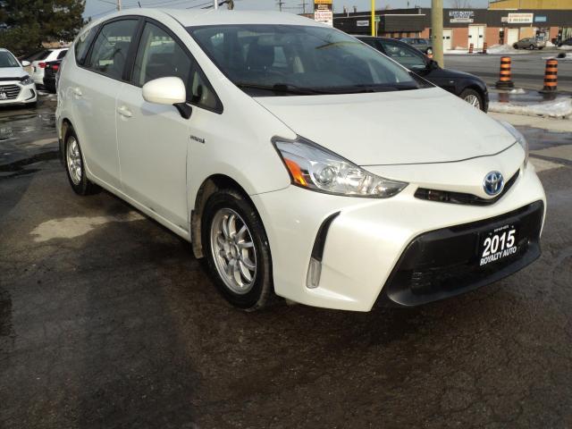 2015 Toyota Prius v LEATHER,PUSH START,NAVIGATION,CAMERA