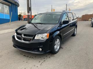 Used 2012 Dodge Grand Caravan CrewPlus/nav/cam/leather/dvd/alloptions/certified for sale in Toronto, ON