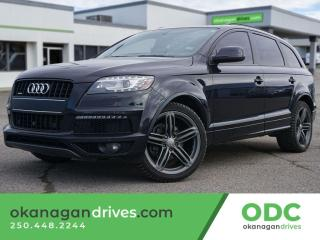 Used 2014 Audi Q7 3.0T Sport for sale in Kelowna, BC