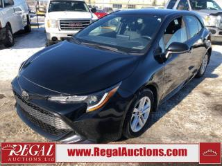 Used 2019 Toyota Corolla SE 4D HATCHBACK 2.0L for sale in Calgary, AB