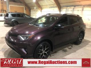 Used 2017 Toyota RAV4 SE 4D UTILITY 4WD for sale in Calgary, AB