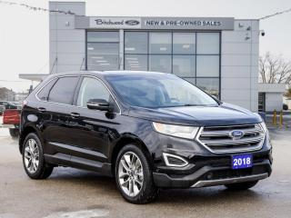 Used 2018 Ford Edge Titanium CLEAN CARFAX | LOADED for sale in Winnipeg, MB