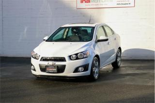 Used 2012 Chevrolet Sonic LT for sale in Victoria, BC