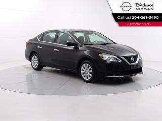 Used 2017 Nissan Sentra SV Bluetooth, Heated Seats, Backup Camera, One Owner for sale in Winnipeg, MB