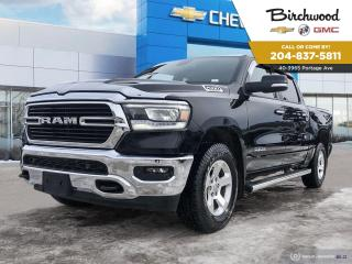 Used 2019 RAM 1500 Big Horn Crew Cab | 4WD | 5.7L V8 for sale in Winnipeg, MB