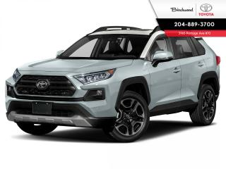 New 2021 Toyota RAV4 Trail AWD WITH TWO TONE PAINT for sale in Winnipeg, MB