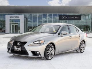 Used 2015 Lexus IS 250 4dr Sdn AWD Luxury Package for sale in Winnipeg, MB