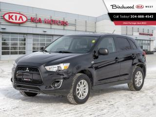 Used 2014 Mitsubishi RVR SE for sale in Winnipeg, MB