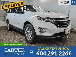 New 2021 Chevrolet Equinox LS You Pay What We Pay! for sale in Burnaby, BC