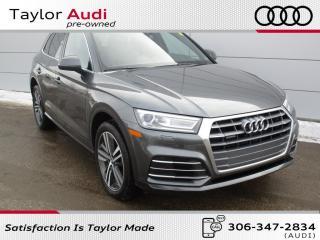 Used 2018 Audi Q5 2.0T Progressiv LOW MILEAGE, ONE OWNER, S LINE SPORT PACKAGE for sale in Regina, SK