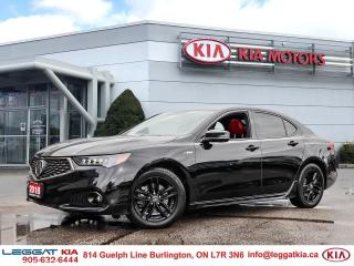 Used 2018 Acura TLX Elite A-Spec ELITE | ASPEC | ONLY19000KMS | OFFLEASE | TINT | 2SETSOFTIRES for sale in Burlington, ON