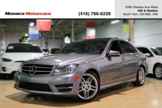 Used 2014 Mercedes-Benz C-Class C350 4MATIC - PANO|NAVI|BACKUP|BLINDSPOT|LANEKEEP for sale in North York, ON