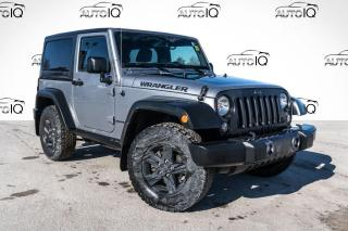 Used 2017 Jeep Wrangler SPORT for sale in Barrie, ON