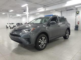Used 2017 Toyota RAV4 LE - CAMERA + S. CHAUFFANTS + JAMAIS ACCIDENTE !!! for sale in Saint-Eustache, QC
