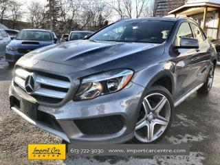 Used 2017 Mercedes-Benz GLA AMG APPEARANCE  OFF ROAD PACKAGE  HTD SEATS  BACKU for sale in Ottawa, ON