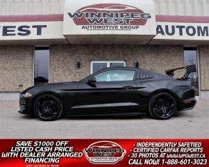 Used 2019 Ford Mustang GT 5.0L 6SPEED, LOTS OF $$ SPENT ON MODS & EXTRAS! for sale in Headingley, MB