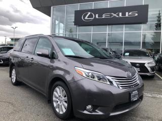 Used 2017 Toyota Sienna XLE LTD 7-Passenger V6 / Limited, NO Accidents, ON for sale in North Vancouver, BC