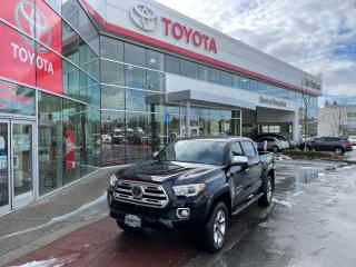 Used 2018 Toyota Tacoma Limited V6 for sale in Surrey, BC