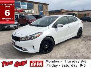 Used 2018 Kia Forte SX | Nav | Htd + Cooled Leather | Sunroof | for sale in St Catharines, ON