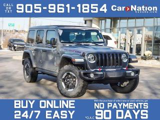 Used 2021 Jeep Wrangler Rubicon Unlimited 4x4| SKY TOP| LEATHER| BRAND NEW for sale in Burlington, ON